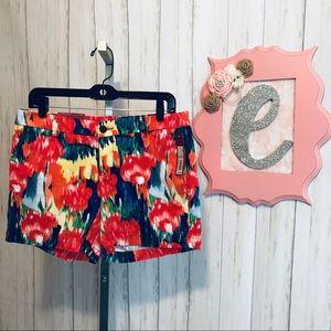 Merona NWT Paint Splatter Shorts Size 6